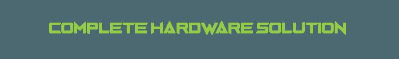 Hardware solution provider